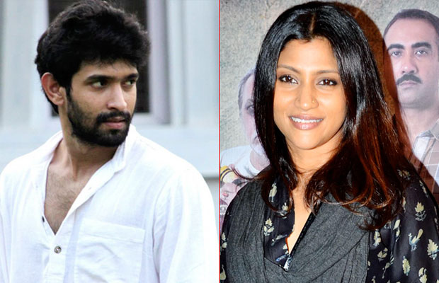 Vikrant Massey and Konkana Sen Sharma