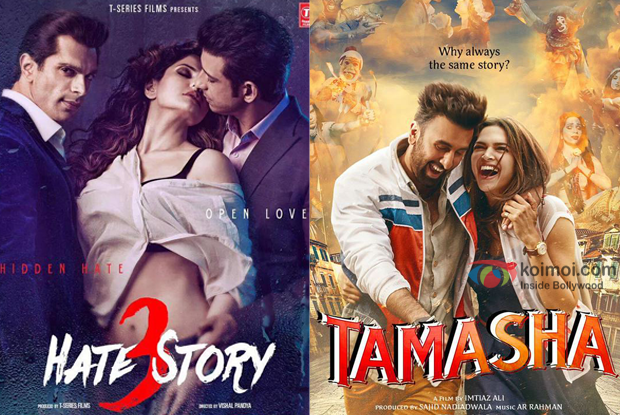 Box Office - Hate Story 3 and Tamasha - The Final Numbers