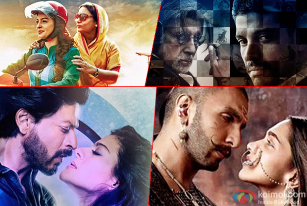 Box Office : Chalk N Duster, Dilwale, Wazir and Bajirao Mastani