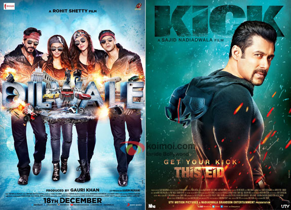 'Dilwale' Beats 'Kick', Becomes The 8th Highest Worldwide Grosser