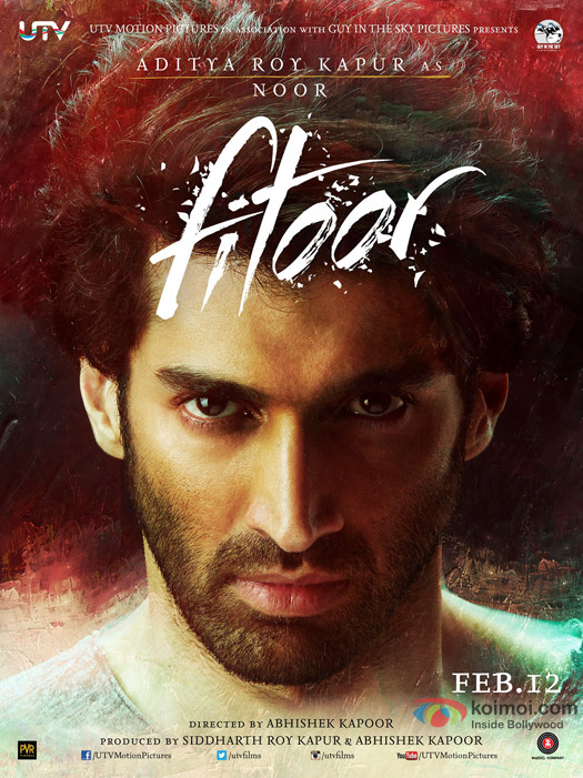 Aditya Roy Kapur in a 'Fitoor' Movie Poster 3