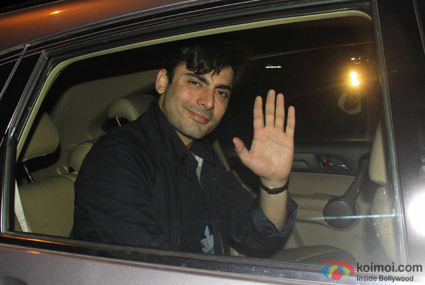 Fawad Khan Spotted At Sidharth malhotra's House