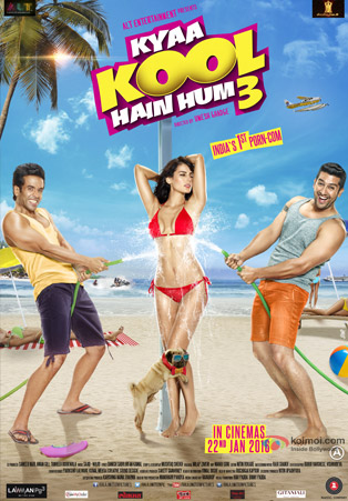 Kyaa Kool Hain Hum 3 Movie Poster