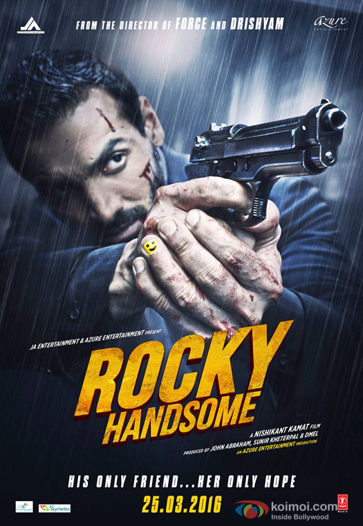John Abraham starrer 'Rocky Handsome' Movie Poster 5