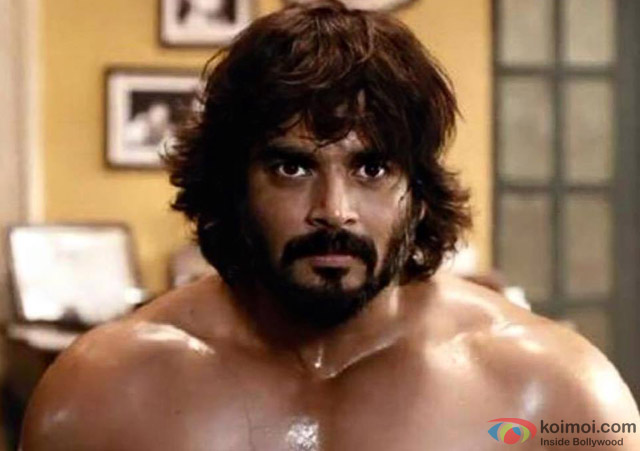 R Madhavan in a still from movie 'Saala Khadoos'
