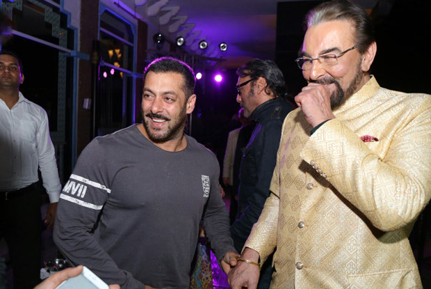 Salman Khan And Kabir Bedi