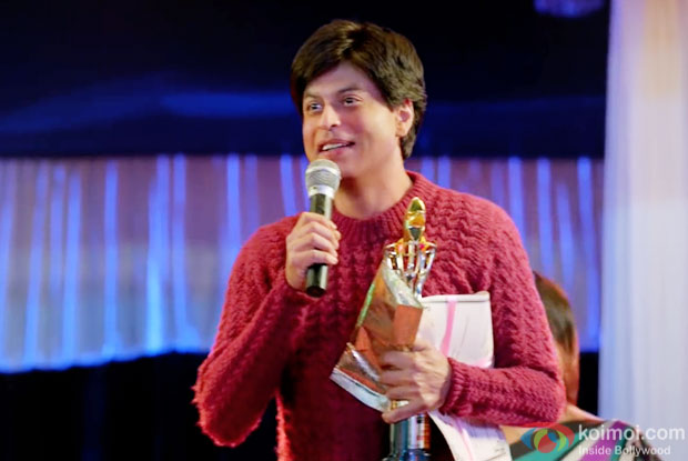 Shah Rukh Khan in a still from 'Fan'