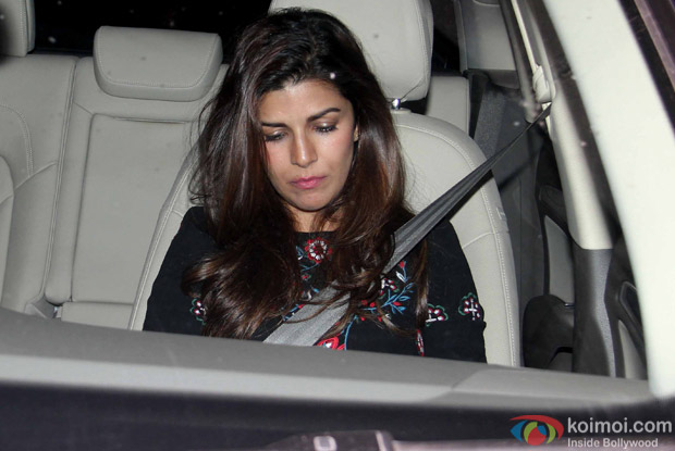 "Nimrat Kaur During The Special Screening Of ""Airlift"""
