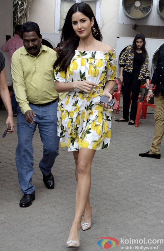 Katrina Kaif During The Promotion Of Fitoor