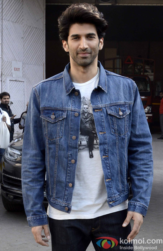 Aditya Roy Kapur During The Promotion Of Fitoor
