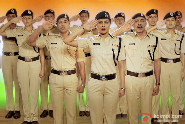 Priyanka Chopra's Tribute To Women Police With National Anthem