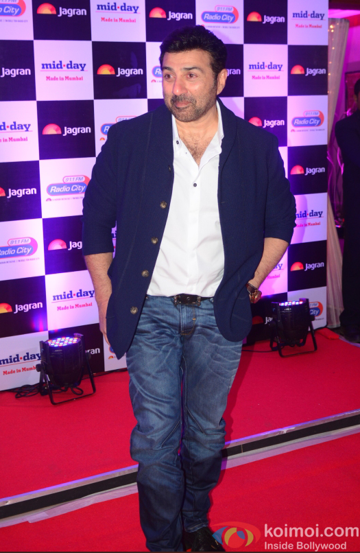 Sunny Deol at party hosted by Jagran publication