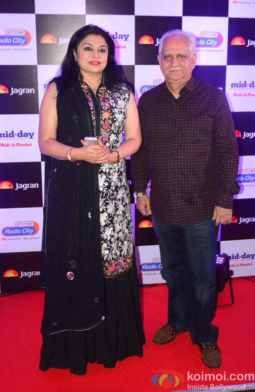 Ramesh Sippy at party hosted by Jagran publication