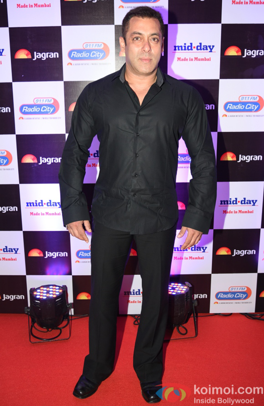 Salman Khan at party hosted by Jagran publication