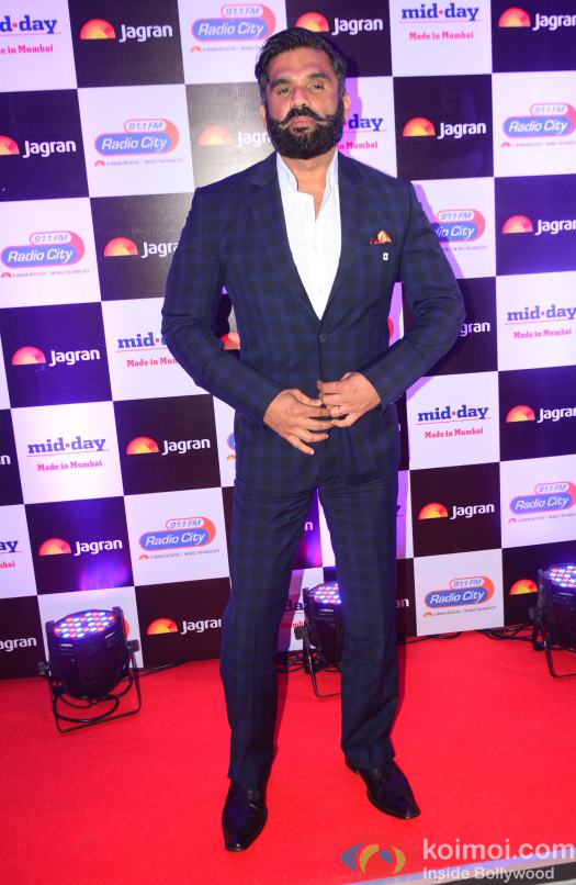 Sunil Shetty at party hosted by Jagran publication