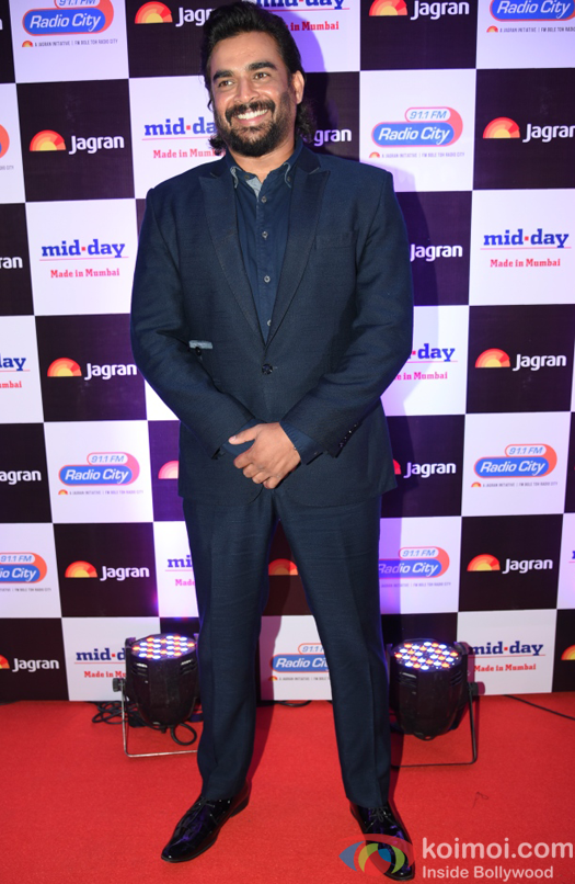 R Madhvan at party hosted by Jagran publication