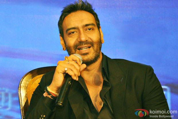 Ajay Devgn All Set To Sing The Title Track Of His Directorial 'Shivaay'