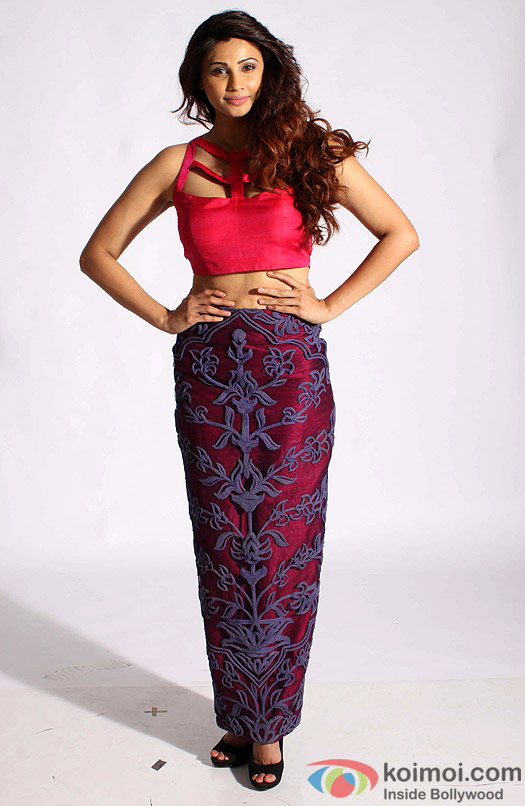 Daisy Shah during the photo shoot
