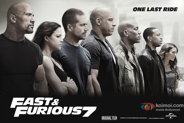 Furious 7 Movie Poster