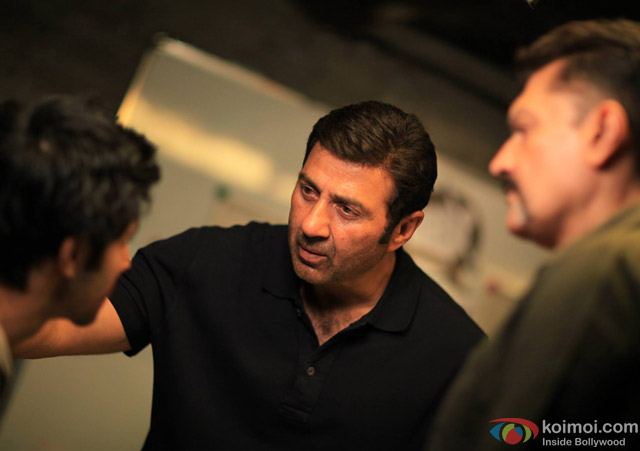 Sunny Deol in a still from movie 'Ghayal Once Again'