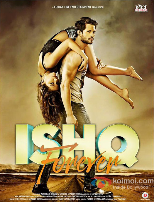 Poster Of Bollywood Movie Watch Online Ishq Forever 300MB Pdvd Full Movie Free Download