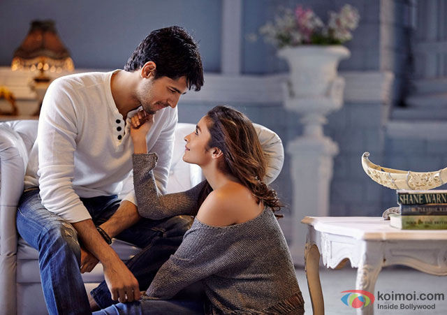 Sidharth Malhotra and Alia Bhatt in 'Kapoor And Sons' Movie Stills