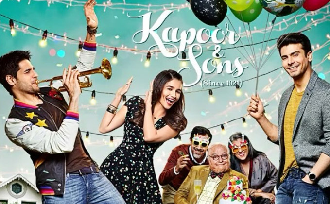 kapoor sons heres the jolly motion poster 0001 - What Trended on Flickstree in 2016 !