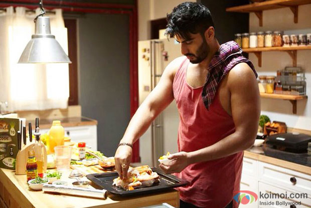 Arjun Kapoor in a still from 'Ki And Ka'