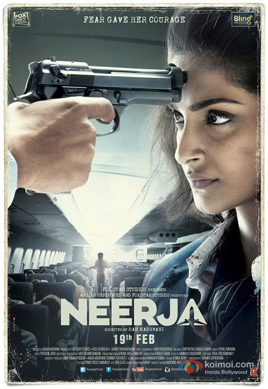 Sonam Kapoor starrer 'Neerja' Movie Poster 1