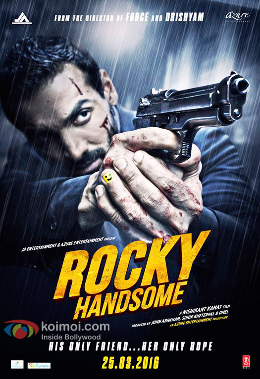 Rocky Handsome (2016) – 1CD – DVDSCR-Rip – Hindi – x264 – MP3 – Mafiaking – M2Tv