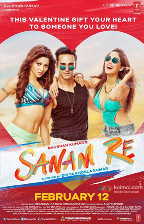 Sanam Re Movie Poster