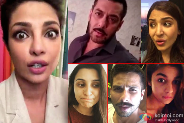 Watch : Priyanka Chopra, Salman Khan, Anushka Sharma, Parineeti Chopra, Shahid Kapoor and Alia Share Their Fears