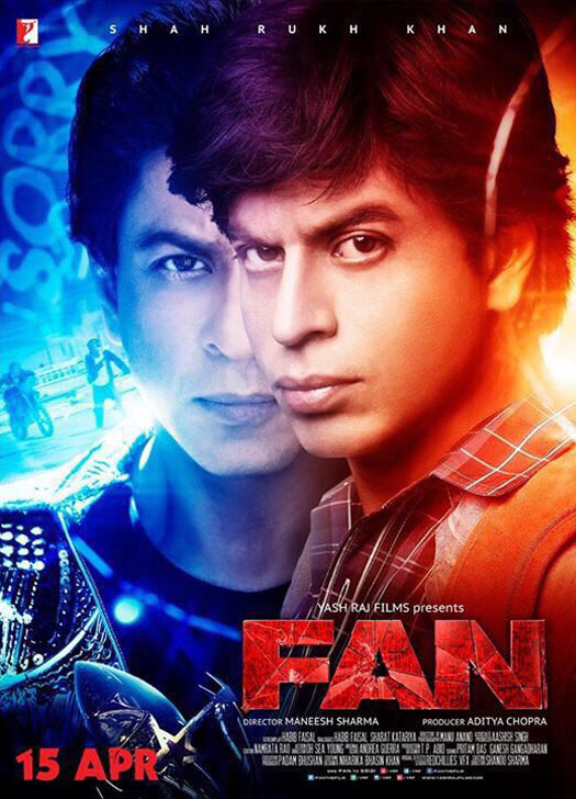 FAN (2016) – 720p – WebHD-Rip – Hindi – x264 – AAC – ESub – Mafiaking – M2Tv 1Gb