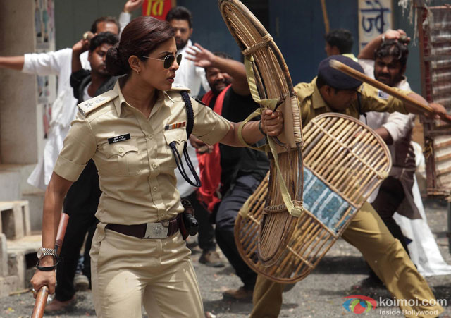 Priyanka Chopra in a still from movie 'Jai Gangaajal'