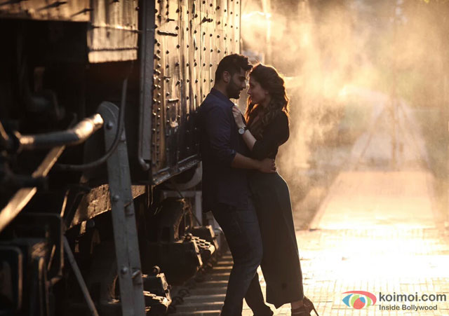 Arjun Kapoor and Kareena Kapoor in 'Ki And Ka' Movie Stills