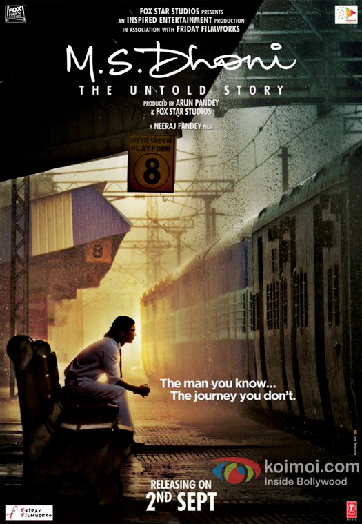 Sushant Singh Rajput starrer M.S. Dhoni: The Untold Story poster