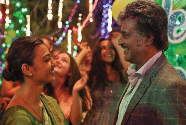 Radhika Apte and Rajnikanth's Kabali Movie Stills