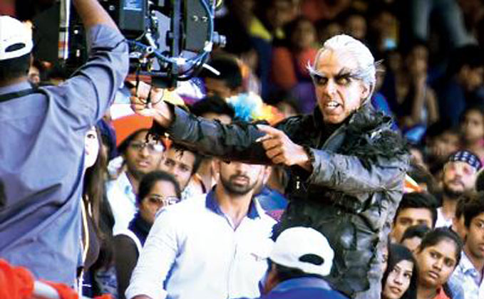 Check Out Akshay Kumar's First Look In Robot 2