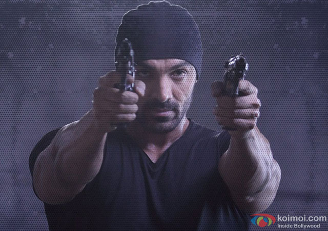 John Abraham in a still from movie 'Rocky Handsome'