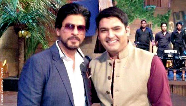 Shah Rukh Khan Shoots For The Kapil Sharma Show's Promo