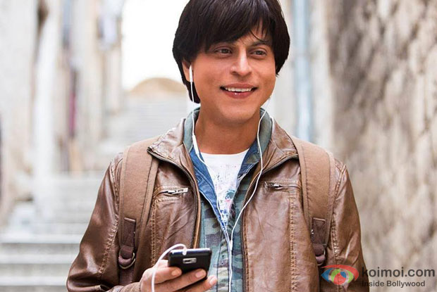 Shah Rukh Khan in a still from movie 'Fan'