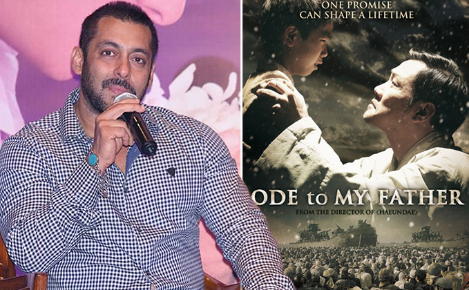 Salman Khan To Star In The Remake Of Ode to My Father?