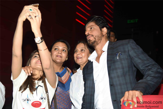 Shahrukh Khan During the Promotion of Fan