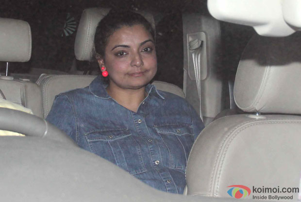 Vaibhavi Merchant during the Special Screening of Fan at YRF Studios