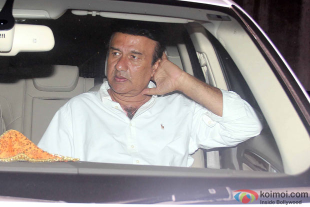 Anu Malik during the Special Screening of Fan at YRF Studios