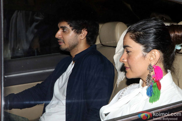 Tahir Raj Bhasin during the Special Screening of Fan at YRF Studios