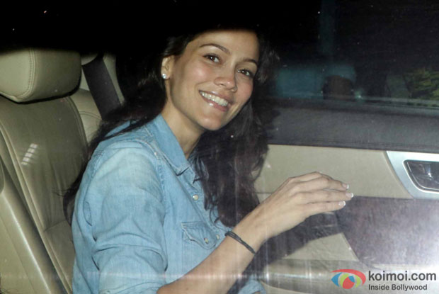 Waluscha De Sousa during the Special Screening of Fan at YRF Studios