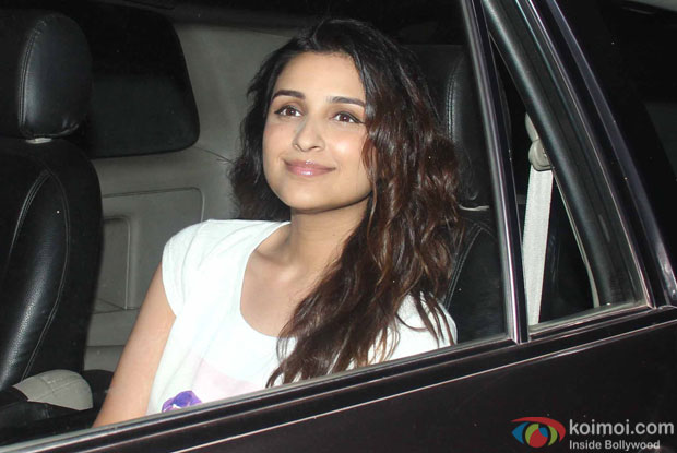 Parineeti Chopra during the Special Screening of Fan at YRF Studios