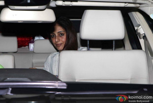 Tabu during the Special Screening of Fan at YRF Studios