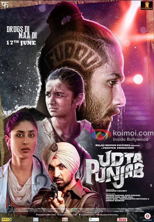 Udta Punjab (2016) – 720p – DVDSCR-Rip – Hindi – x264 – AC3 – 2.0 – Mafiaking – M2Tv. 1.9Gb